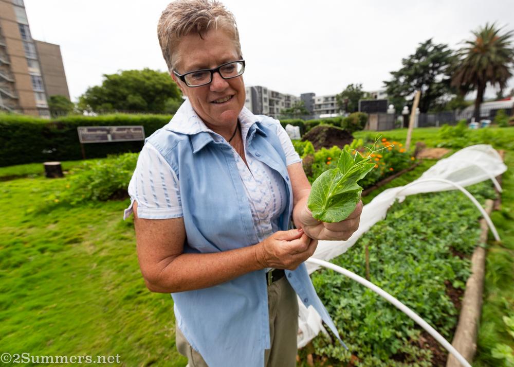 Janine Carstensen of the Food Exchange