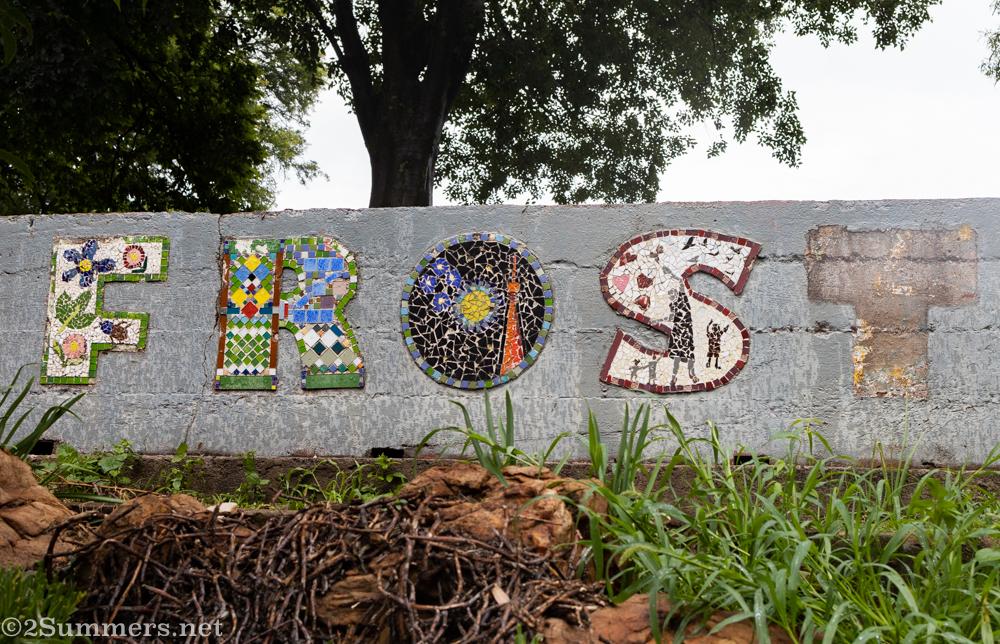 Mosaic in Kingston Frost Park