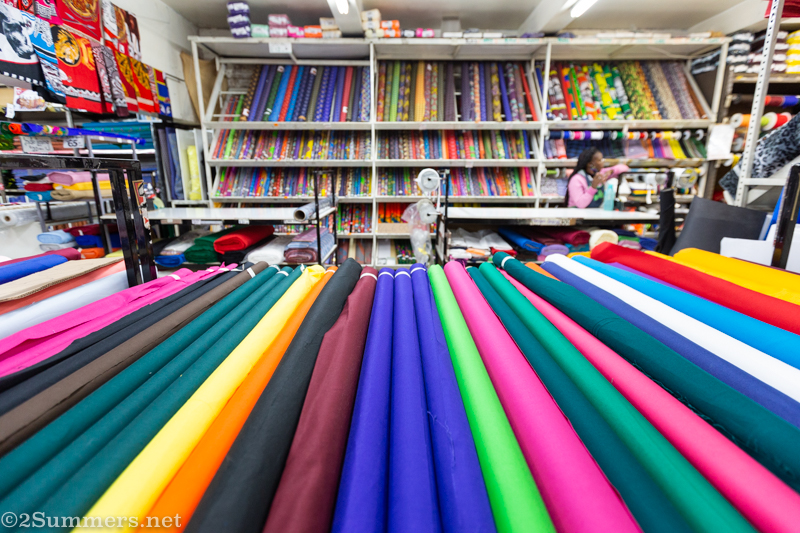 MiniMark Wholesale Discount House: Fabric Heaven on Diagonal Street