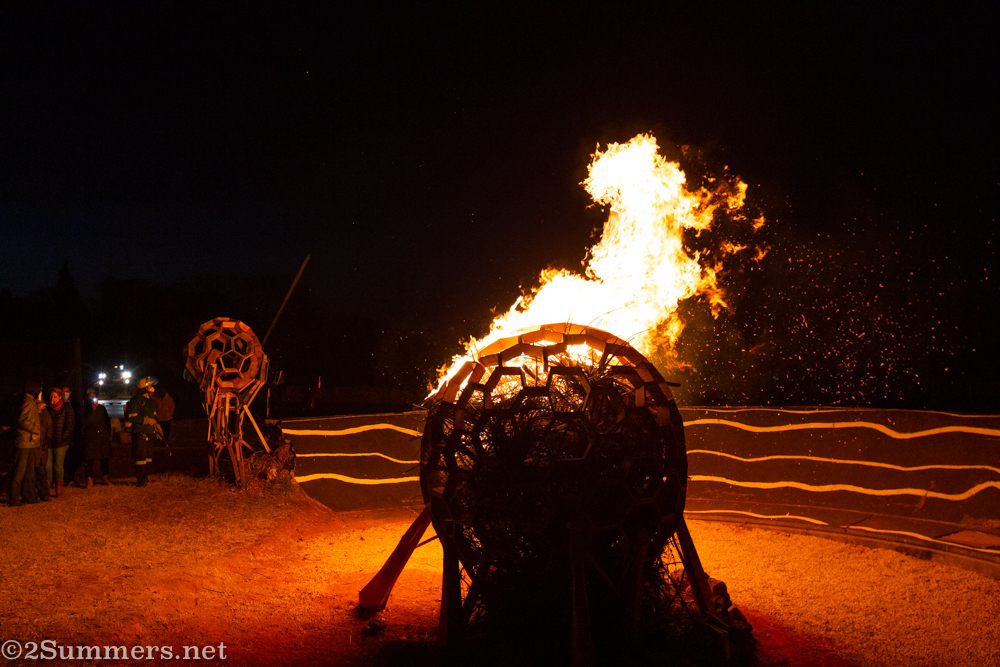 The start of the Brixton Burn
