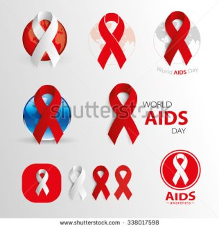 stock-vector-world-aids-day-awareness-medical-signs-vector-icons-338017598