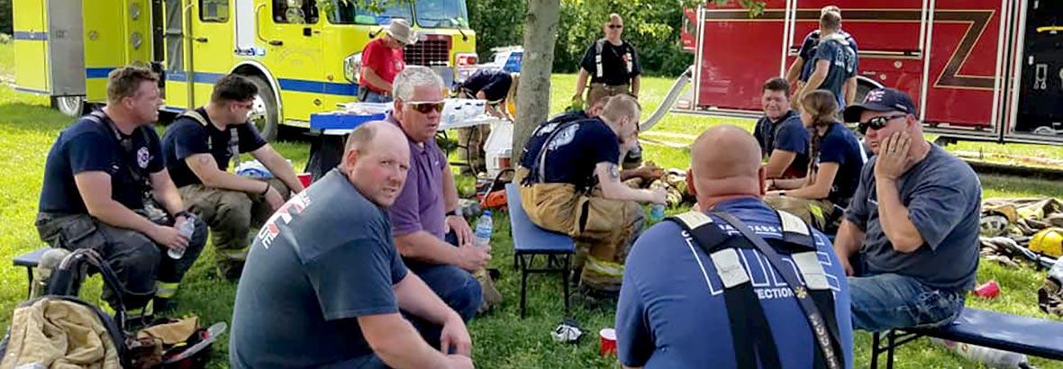 resting-firemen
