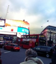 Piccadilly circus - London, UK, 2013
