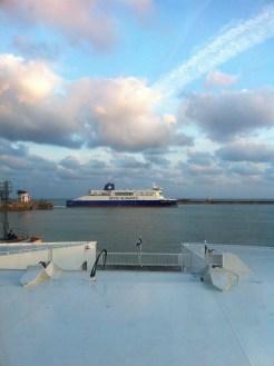 Ferry - Dover, UK, 2013