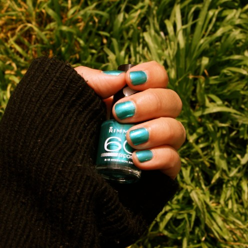 Vernis Rimmel London Green with Envy