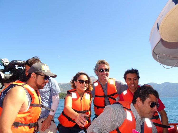 Das Fernseh-Team an Bord :)