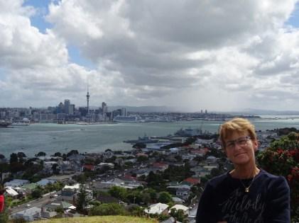 Sicht auf Auckland von Devonport