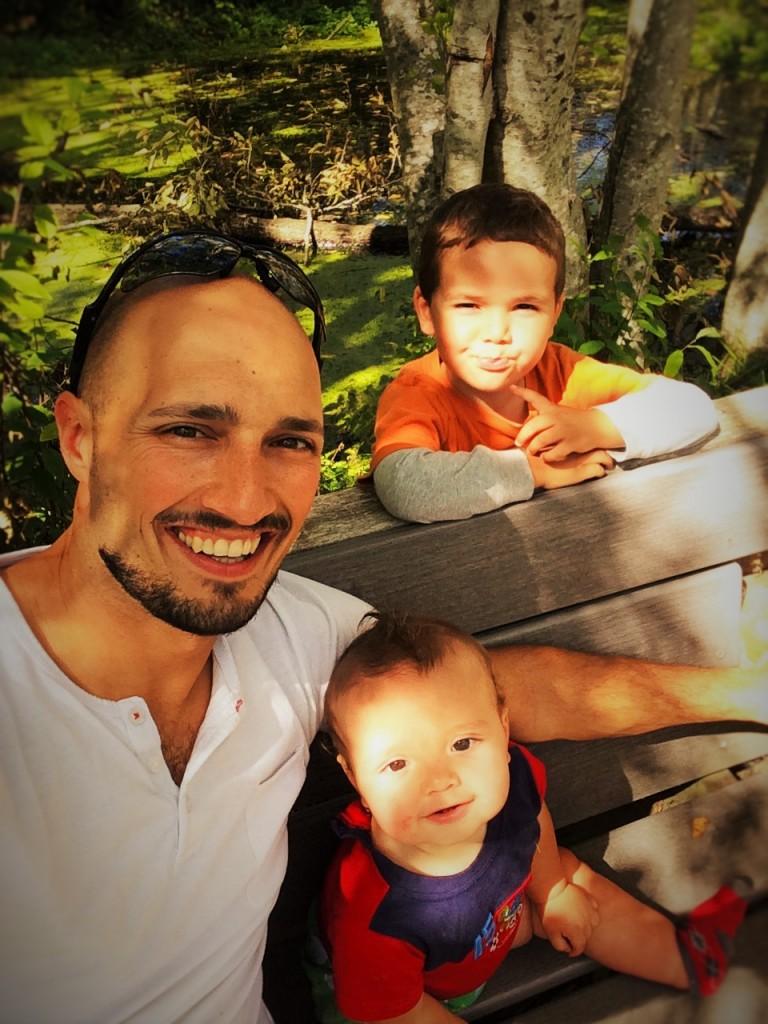 Daddy Little Dudes Fish Park Poulsbo