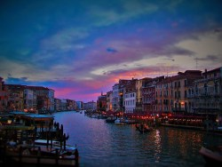 Venetian Sunset Venice Grand Canal