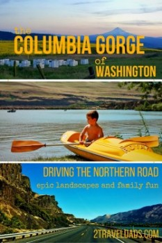 The North side of the Columbia Gorge offers a wide variety of activities, from hiking and museums, to wine and beer tasting. See why southern Washington rocks our world. 2traveldads.com