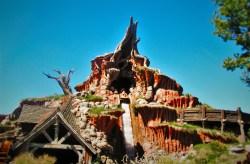 Splash Mountain Disneyland from splash zone 1