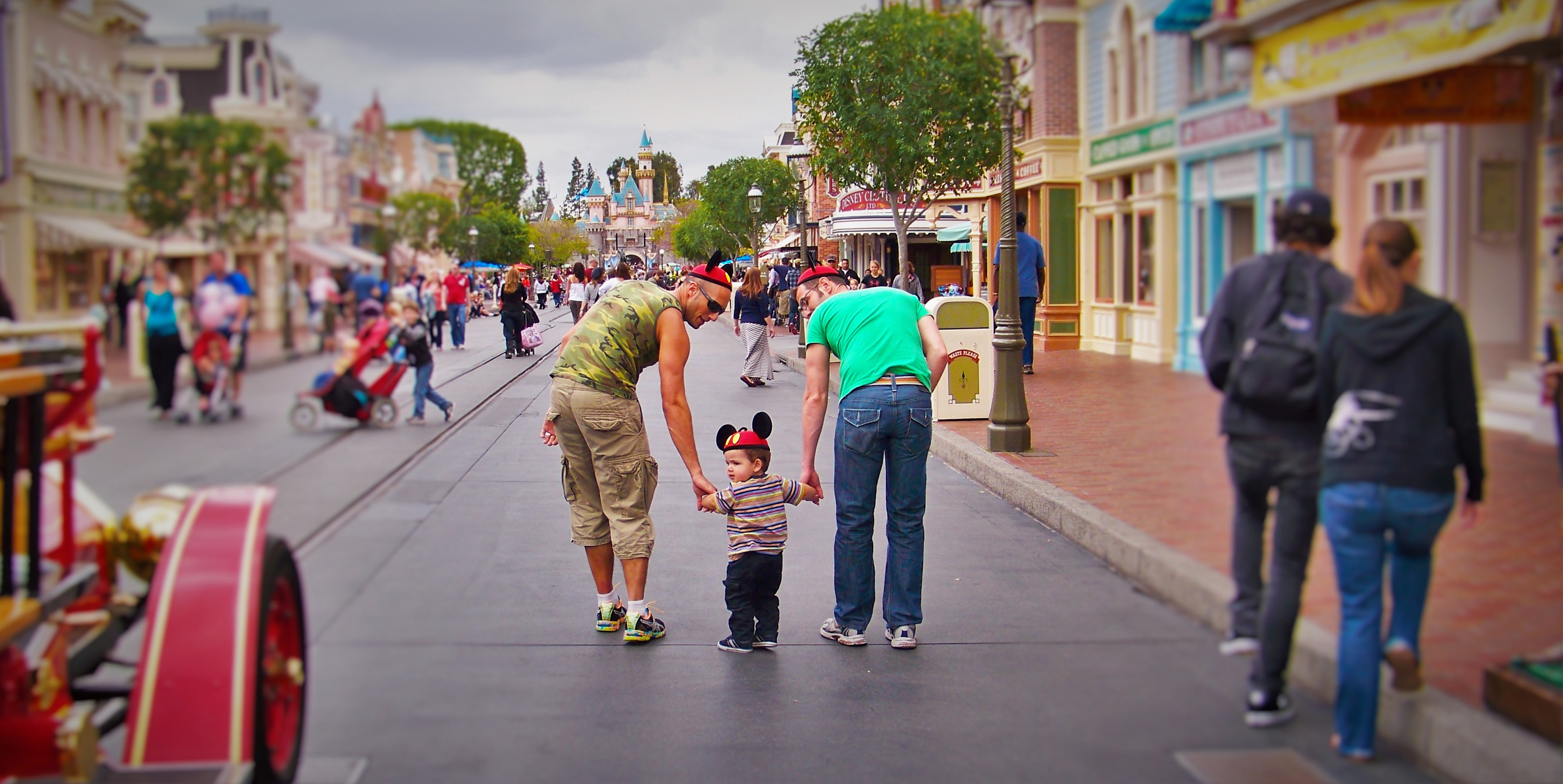 Taylor Family Mainstreet USA Disneyland Header