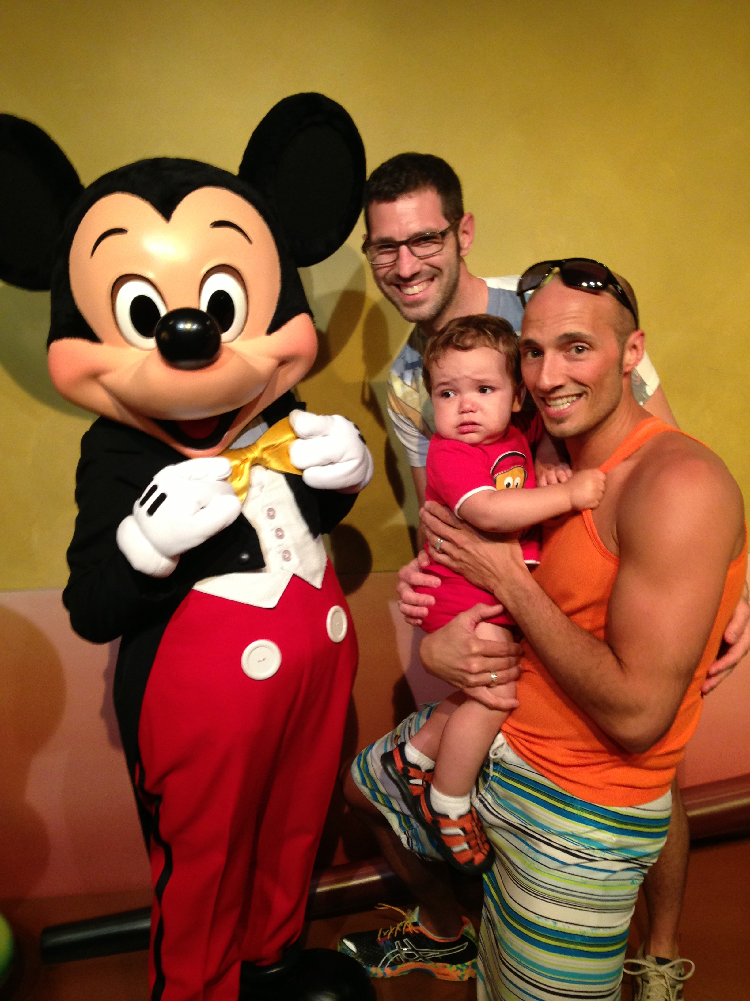 Taylor Family and Mickey Mouse 3