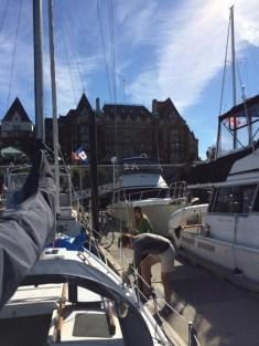 Sailing Victoria Marina