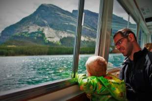 Chris Taylor and TinyMan Glacier Park Boat Co