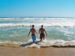 Chris and Rob Taylor Huntington Beach