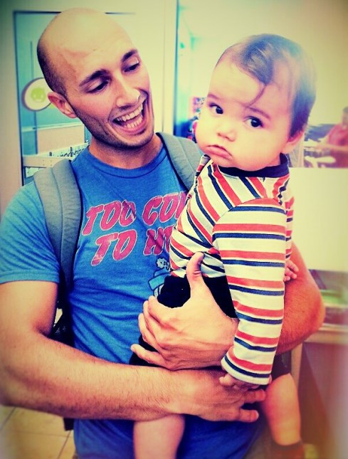 Daddy and LittleMan 1