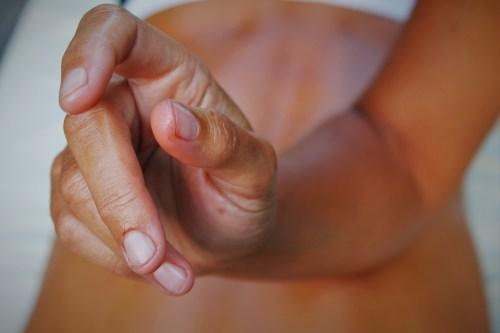 Kelly Blanchard Massaging 2