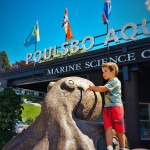 LittleMan and Octopus Sculpture Poulsbo Aquarium 2