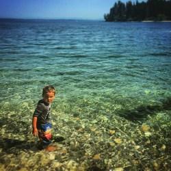 LittleMan at Old Man Beach Suquamish 2