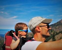 Rob Taylor and LittleMan at Hurrican Ridge Olympic National Park 2
