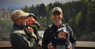 Taylor Family Snoqualamie Falls header