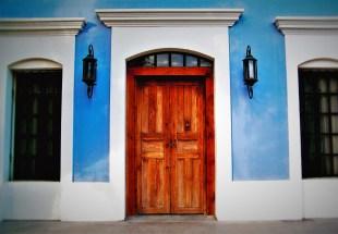 Wooden Doors Todos Santos Mexico