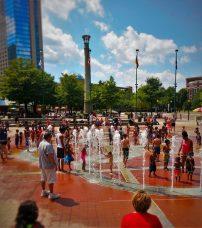 Centenial Park Fountains Atlanta 2