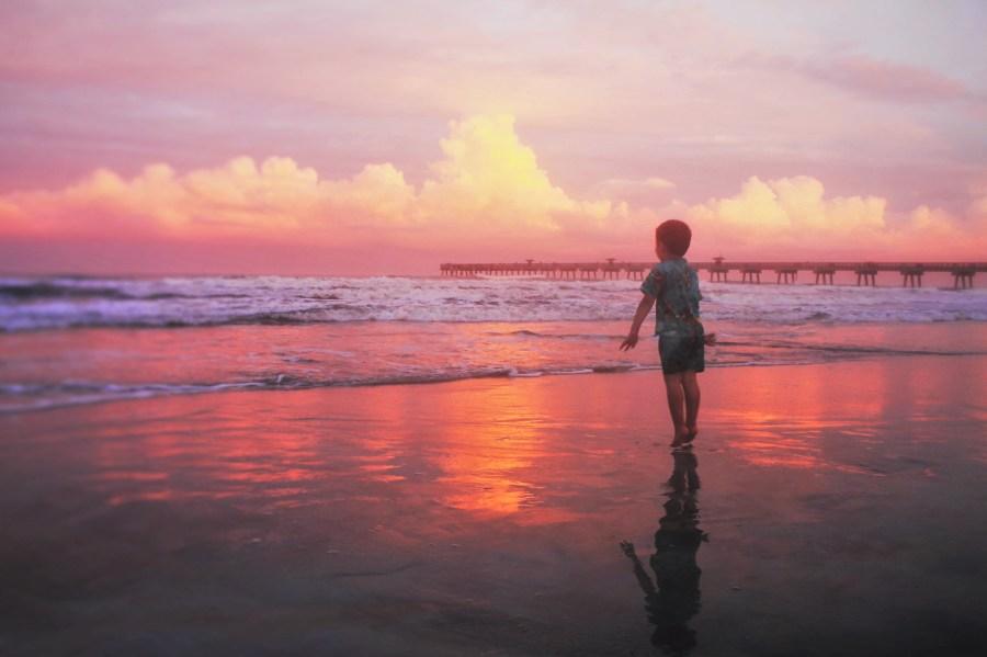 LittleMan at Sunset Jax Beach Casa Marina 4