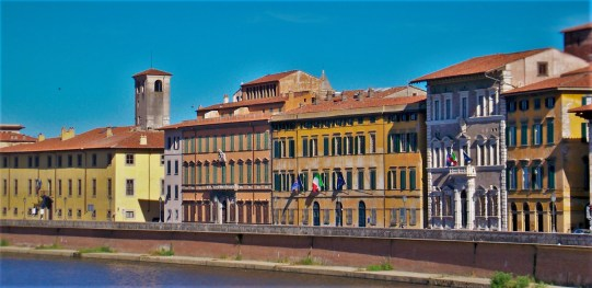 Pisa on the Arno River