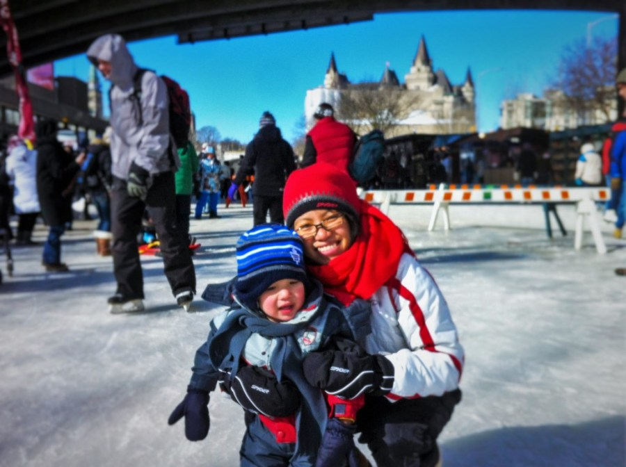 Skating Rideau Canal Winterlude Ottawa 1