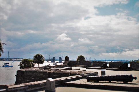 Battlements at Castillo San Marcos St Augustine 4
