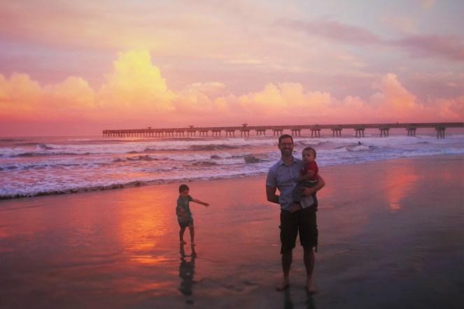 Chris Taylor and Dudes at Sunset Casa Marina Jax Beach 3