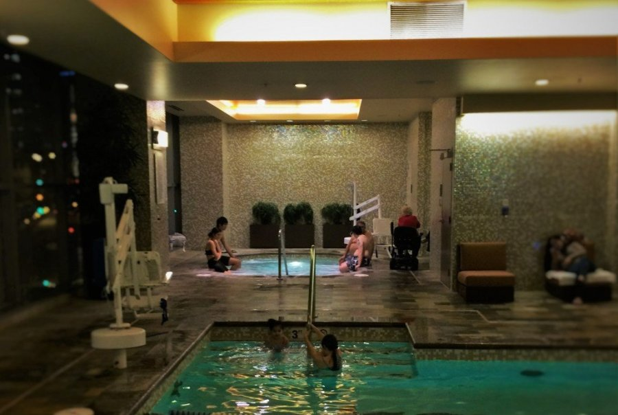 Swimming Pool at Hyatt Olive 8 Seattle 2
