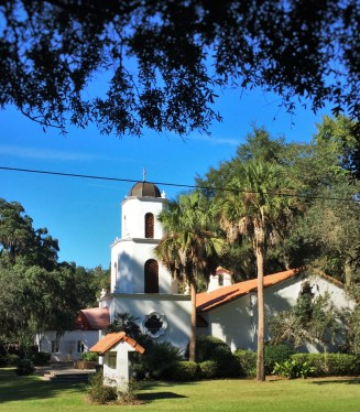 Church while Biking St Simons Island GA 1