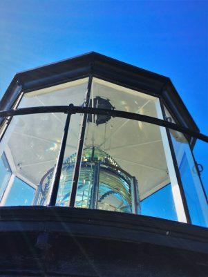 Lantern of St Simons Island Lighthouse Georgia 2traveldads.com