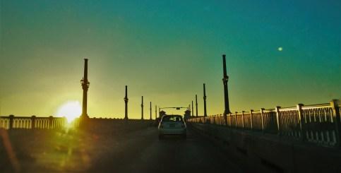 Lions Gate Bridge at Sunset St Augustine Florida