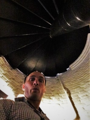 Spiral Staircase in Tower at St Simons Island Lighthouse Georgia 1
