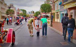 Taylor Family Mainstreet USA Disneyland 1