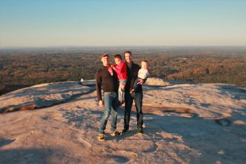 Taylor Family on Stone Mountain Park in Atlanta Georgia 1