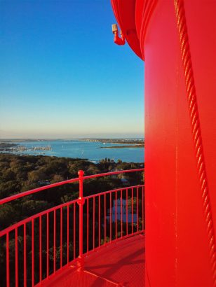 Top of the St Augustine Lighthouse 1