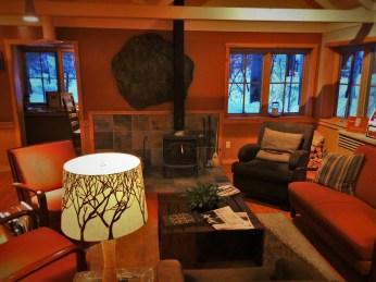 Hotel Lobby at Sleeping Lady Resort Leavenworth WA 1