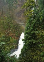 Lower Falls of Multnomah Falls Columbia Gorge Oregon 2traveldads.com