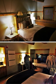 Sleeping Lady cabin room