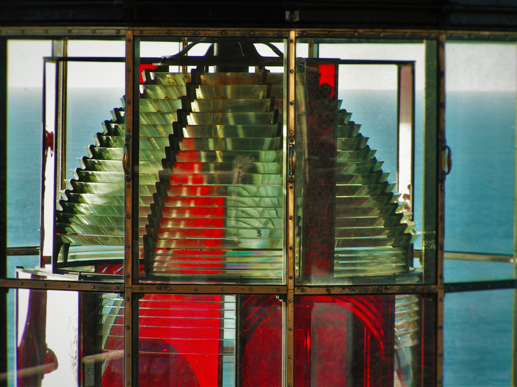 Cape Meares Lighthouse Lens Tillamook Oregon Coast