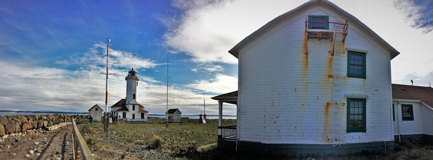 Point Wilson Lighthouse Pano