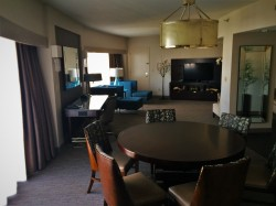 Dining Area in Luxury Suite at Westin Seattle 2