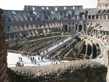 Interior of Colosseum from Lisa Truemper Scott 1