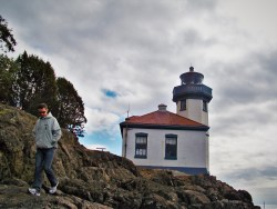 Lime Kiln Lighthouse San Juan Island Washington 2