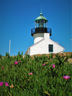 Old Point Loma Lighthouse San Diego Cabrillo 2traveldads.com